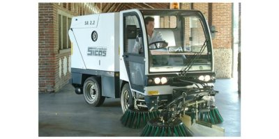 Sicas - Model SA 2.2 Series - Road Sweeper with Suction Collection System
