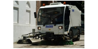 Sicas - Model Millenium Series - Road Sweeper with Suction Collection System