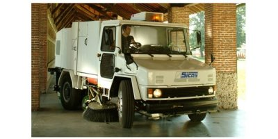 Sicas - Model 4000 Series - Automatic Road Sweeper with Mechanical Collection System