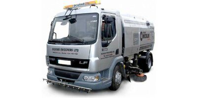 Sicas - Model Merlin Series - Truck Mounted Road Sweeper with Suction Collection System
