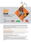 LiftBalkans - Exhibition on Elevators and Escalators for South-East Europe Brochure