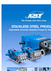 316SS-Duplex SS-Corrosion-Resistant - Stainless Steel Pumps Brochure