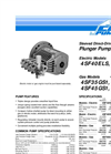 4SF Sleeved Direct-Drive Plunger Pumps Series Data Sheet