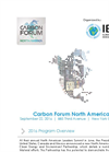 Carbon Forum North America 2016 - Program Overview