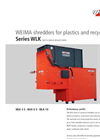 WEIMA - WLK 4 S - WLK 6 S - WLK 10 - Shredders for Plastics and Recycling Brochure