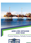 Model 1,500 Gallon (6,000 Liter) - Offshore Acid Tanks - Datahsheet