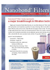 Nanobond - - Filter Media Represents - Brochure