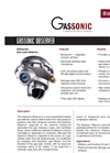 Gassonic Observer Ultrasonic Gas Leak Detector Data Sheet
