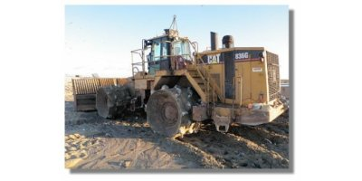 CAT - Model 836G - Landfill Compactor Machine