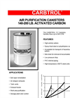 Model G 15 - Activated Carbon Air Purification Canisters Brochure