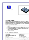Akula 9000B Ground Penetrating Radar (GPR) Specifications Brochure