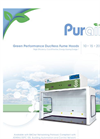 Purair - ECO - Green Performance Ductless Fume Hood – Brochure