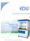 EDU - MOBILE - Ductless Demonstration Fume Hood – Brochure
