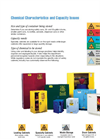 Chemical Characteristics Safety Cabinets