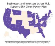 365 Companies and Investors Announce Support for EPA's Clean Power Plan