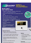 Model 2308 - Gas Cabinet Scale Brochure