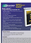 Model 1020-B - 5 Digit Batching Controller Brochure