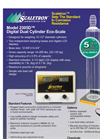 Model 2305D - Digital Dual Cylinder Eco-Scale Brochure