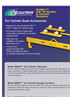 Model 3000LB - Ton Cylinder Lifting Bar Scale Brochure