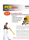 PCS-800 - Pipe & Cable & Sonde Locating Kit Brochure