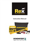Rex - Multiple Frequency Pipe & Cable Locator - Manual