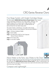 Residential Reverse Osmosis Systems- Brochure