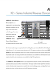AXEON - Model X2 - Series - Brackish Water Reverse Osmosis Systems Brochure