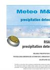 Meteo - Model RSA - Rain Detector Brochure