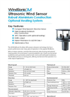 WindSonic - M - Low Cost Ultrasonic Wind Sensor With Aluminium Body - Datasheet