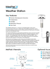 MetPak - II - Weather Station with Remote Wind Sensor Datasheet