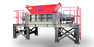 HARDEN - Model TD912 - Industrial waste shredder