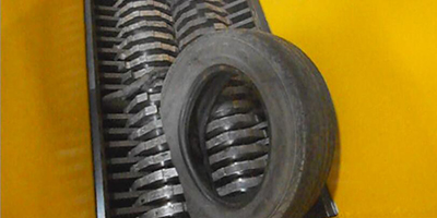 HARDEN - Model TD912 - tire shredder