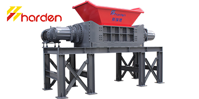 harden - Model TD912 - double shaft shredder