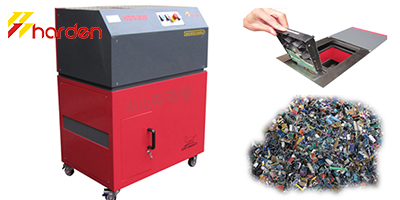 HARDEN - Model HDS150 - Mobile hard drive shredder