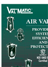 Clean Water Air Release Valves- Brochure