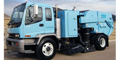 Model DST-6 - Dustless Street Sweeper