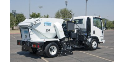Model 210  - Parking Lot Sweeper