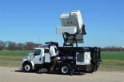 TYMCO - Model 500x - High Dump Street Sweeper