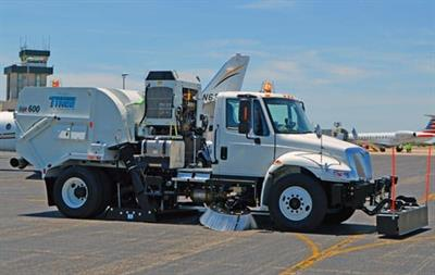 TYMCO - Model HSP - Airport Runway Sweeper
