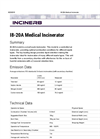 I8-20A - Medical Incinerator Brochure