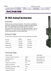 I8-40A - Animal Incinerator Brochure
