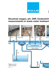 Dissolved Oxygen, pH, ORP, Conductivity Measurements In Waste Water Treatment Plants Applications