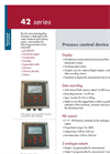 Chemitec - 42 Series - Process Control Device Brochure