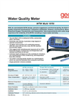 ProfiLine - Model 3320 Series - Multi-Parameter Handheld Meters Brochure