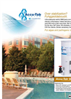 Accu-Tab - Series 100 - Chlorinators For Aquatics - Brochure