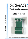 ISOMAG - MS1000 - Wafer Sensor For Electromagnetic Flow Meter - Datasheet