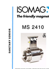 ISOMAG - MS 2410 - Sanitary Sensor For Electromagnetic Flow Meter - Datasheet