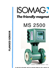 ISOMAG - MS2500 - Flanged Sensor For Electromagnetic Flow Meter – Datasheet