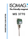 ISOMAG - MS 3770 - Insertion Sensor for Electromagnetic Flow Meter – Datasheet