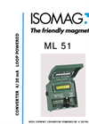 ISOMAG - ML 51 - Two Wire Converter – Datasheet